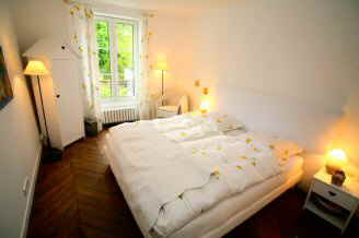 Schlafzimmer im 1.Stock Appartement Provence